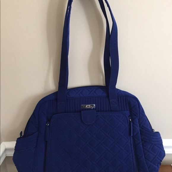 Vera Bradley large stroll around diaper bag. M 5b0ef4569d20f0ed7d5c08fc 49825abd40d14